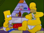 Homer in the Fridge